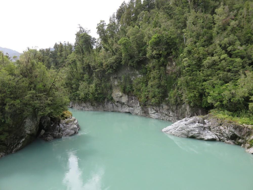 Now on to the Hokitika gorge!