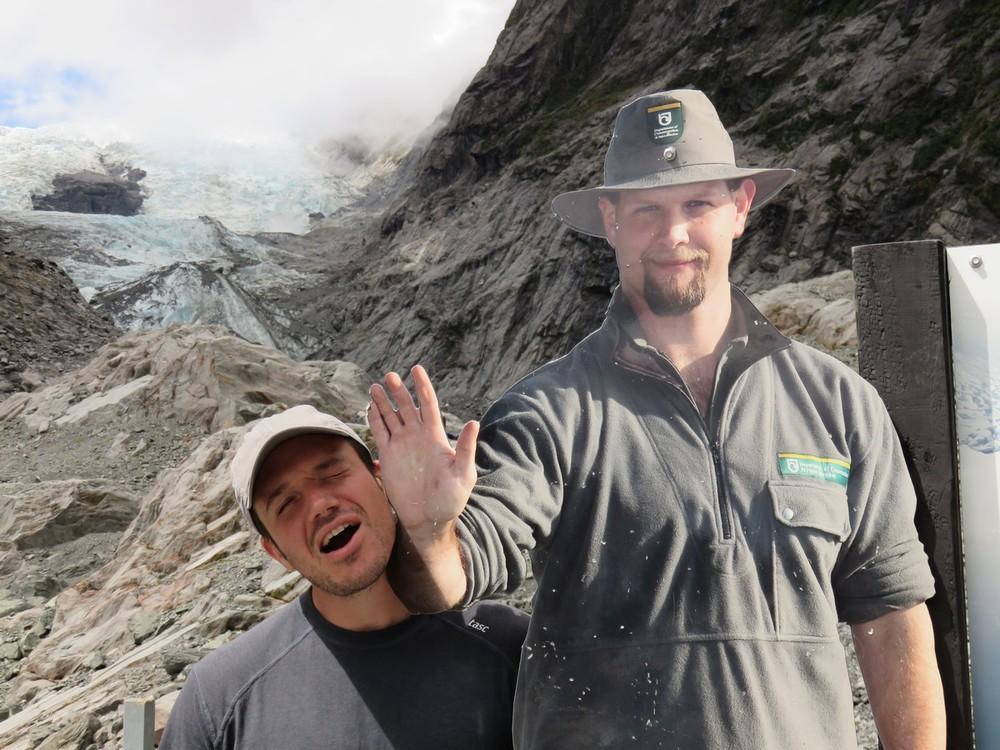 Chris pissing off the Ranger