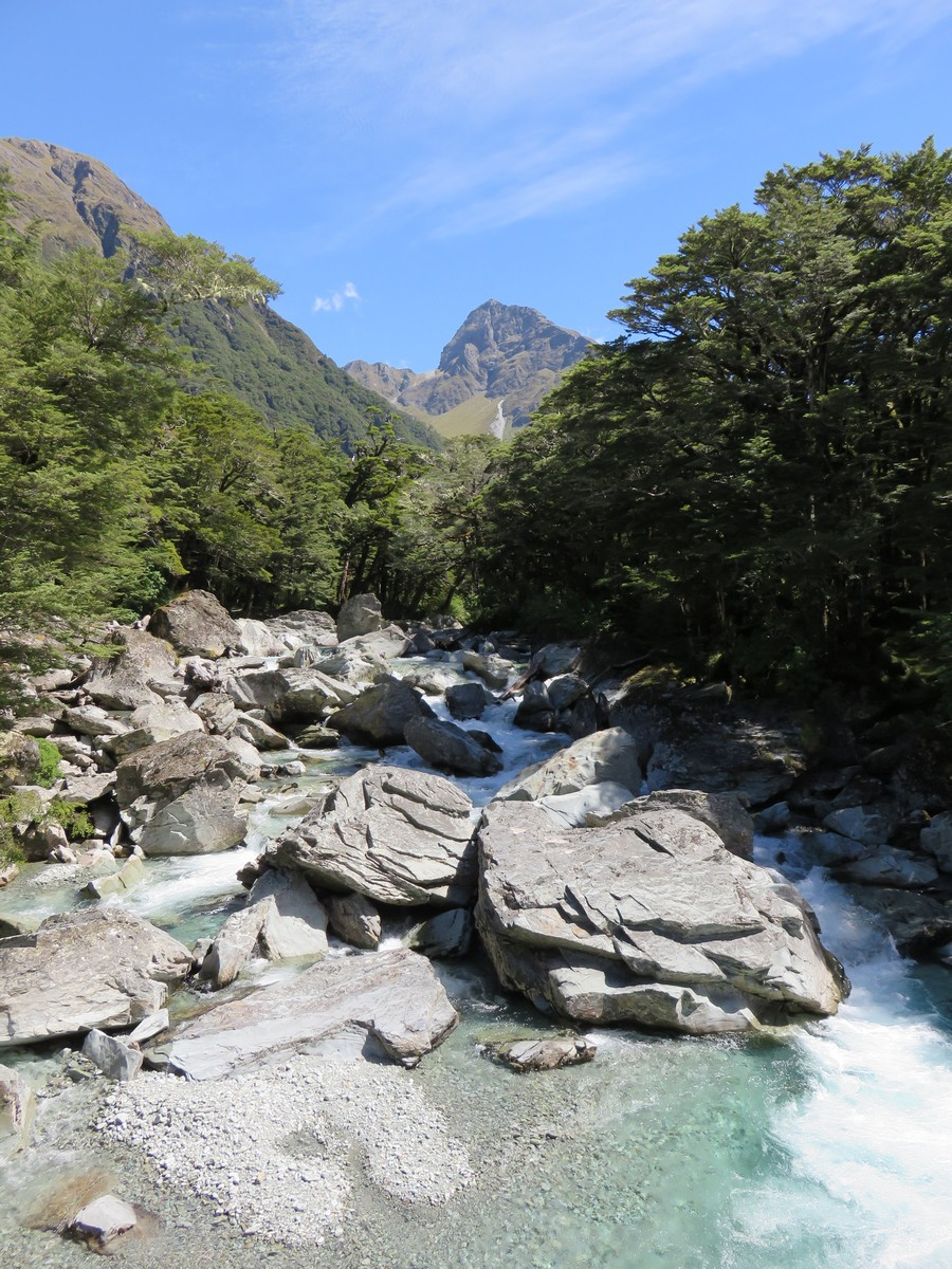 Start of the Routeburn track