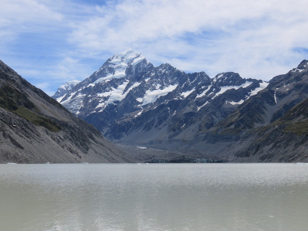 The towering Mt. Cook