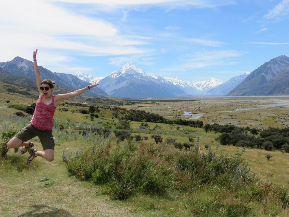 Mt. Cook, wheee!