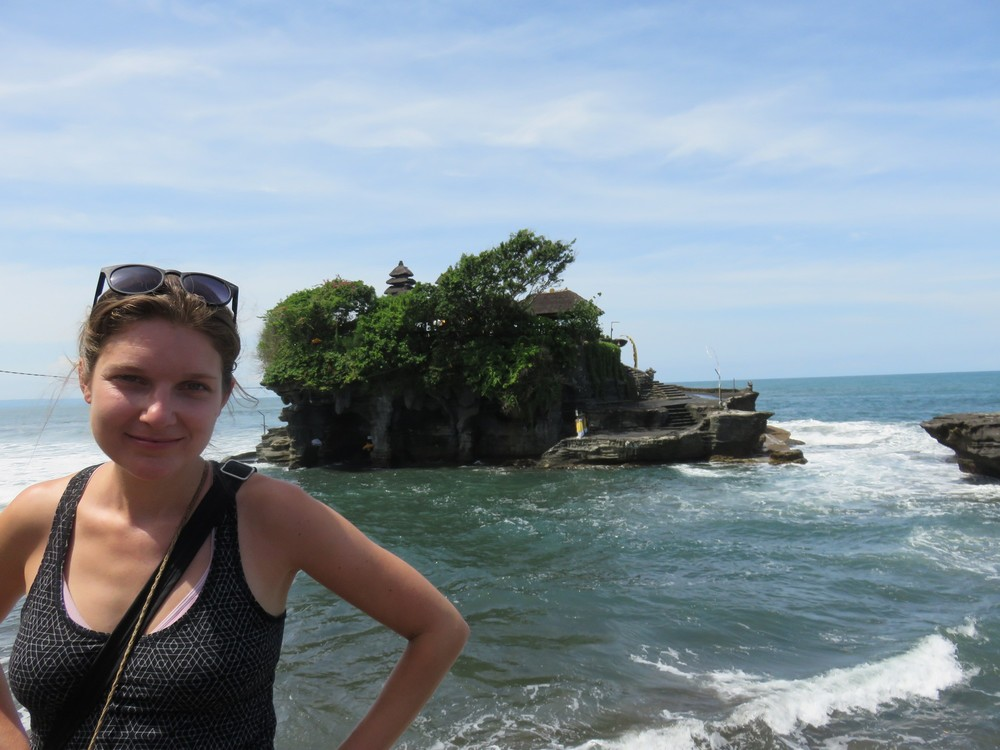 The floating temple - Tanah Lot