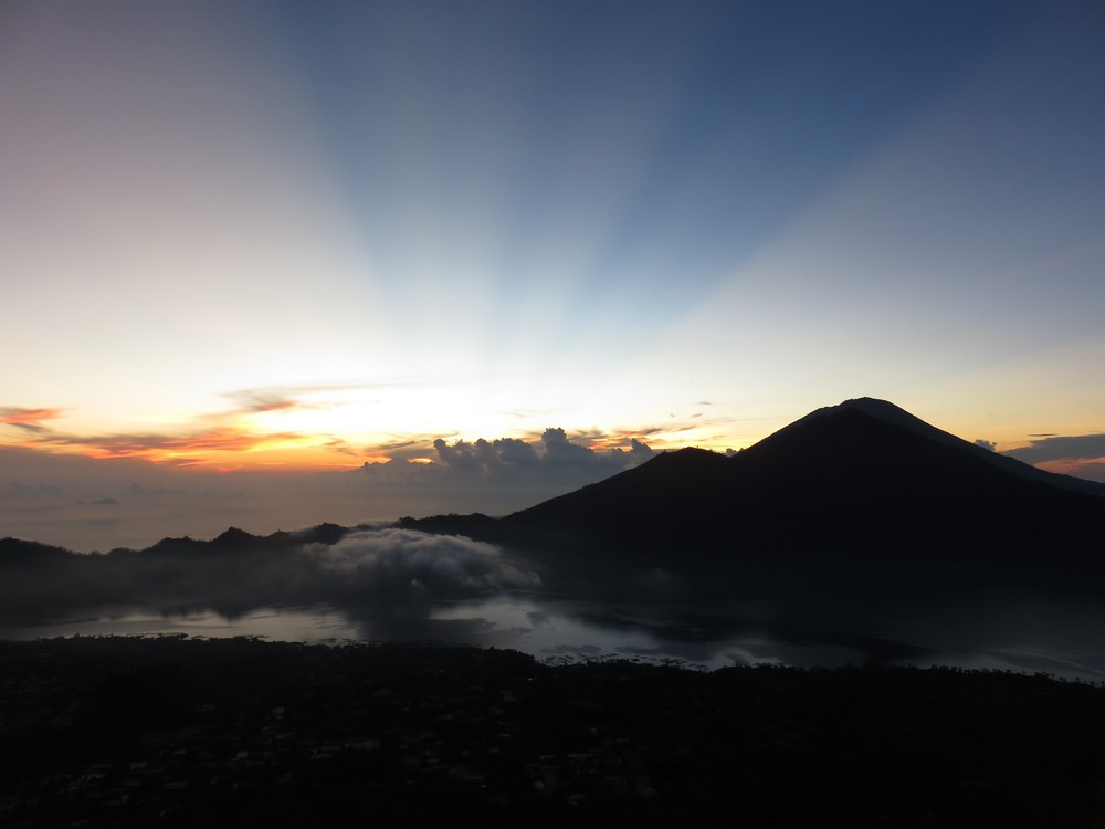 Sunrise on Mt Batur
