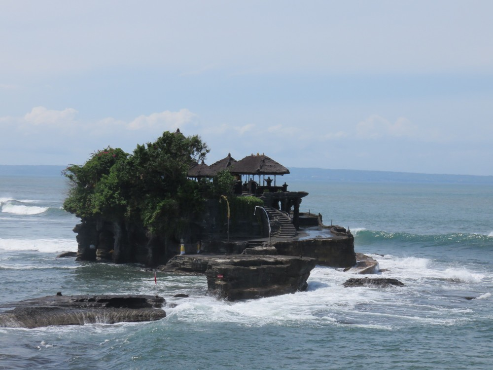 Tanah Lot was stunning