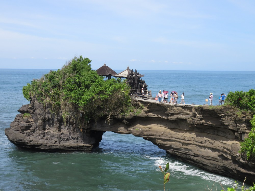 Smaller temple at Tanah Lot