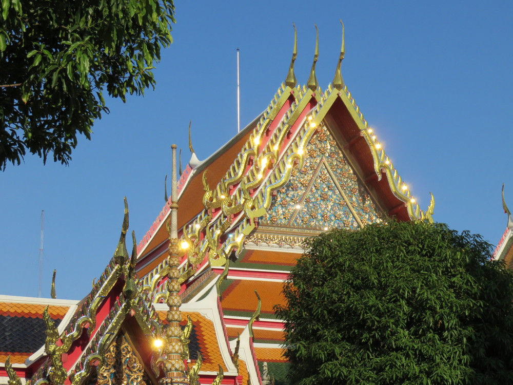 The exotic detail of Bangkok's temples