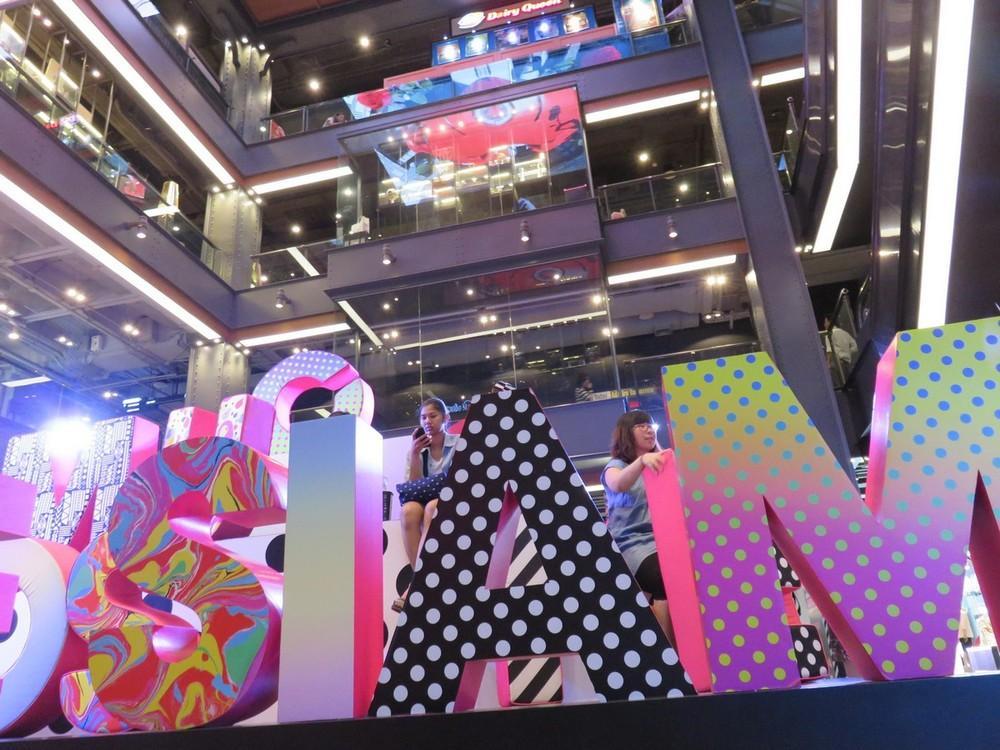 Bangkok Malls - sleek, modern, colorful