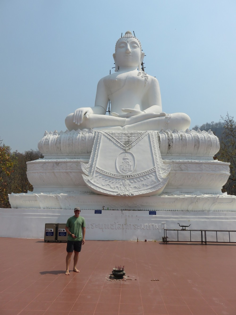 "Aptly named ""Big Buddha"""