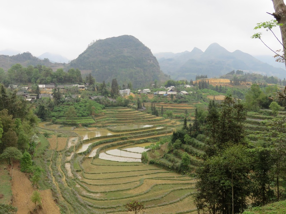 The mountains of northern Vietnam