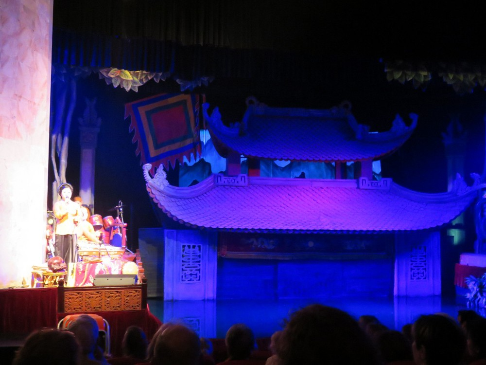 Very cool water puppetry show - an ancient Vietnamese art