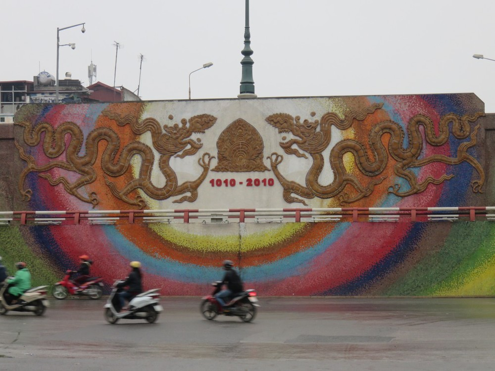 Vietnam recently turned 1000 years old, after kicking out the Chinese in 1010.