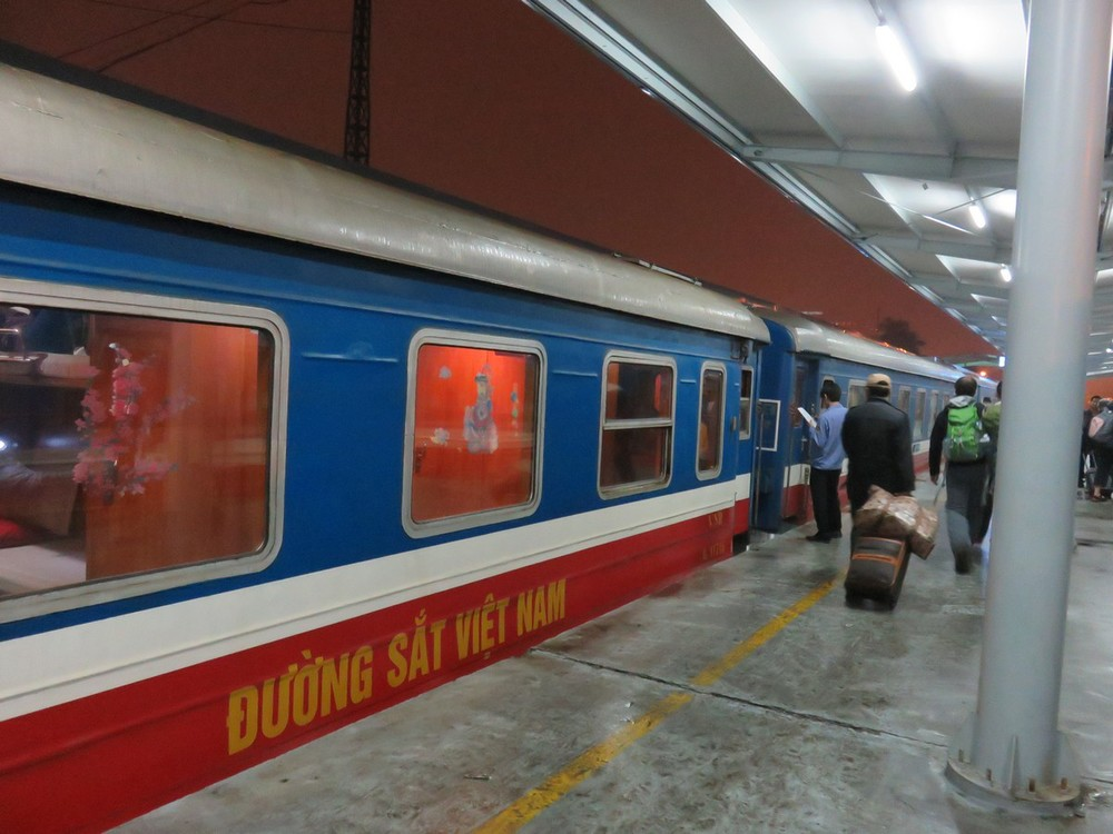 Overnight train to Sapa