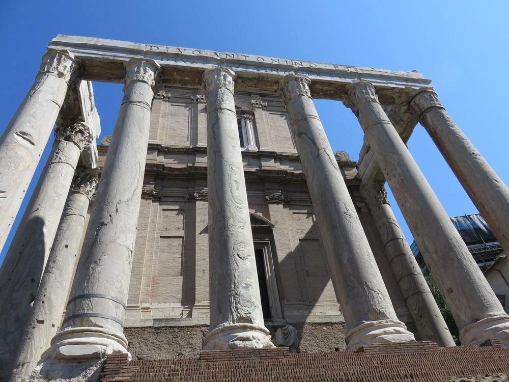 Roman Forum magnitude