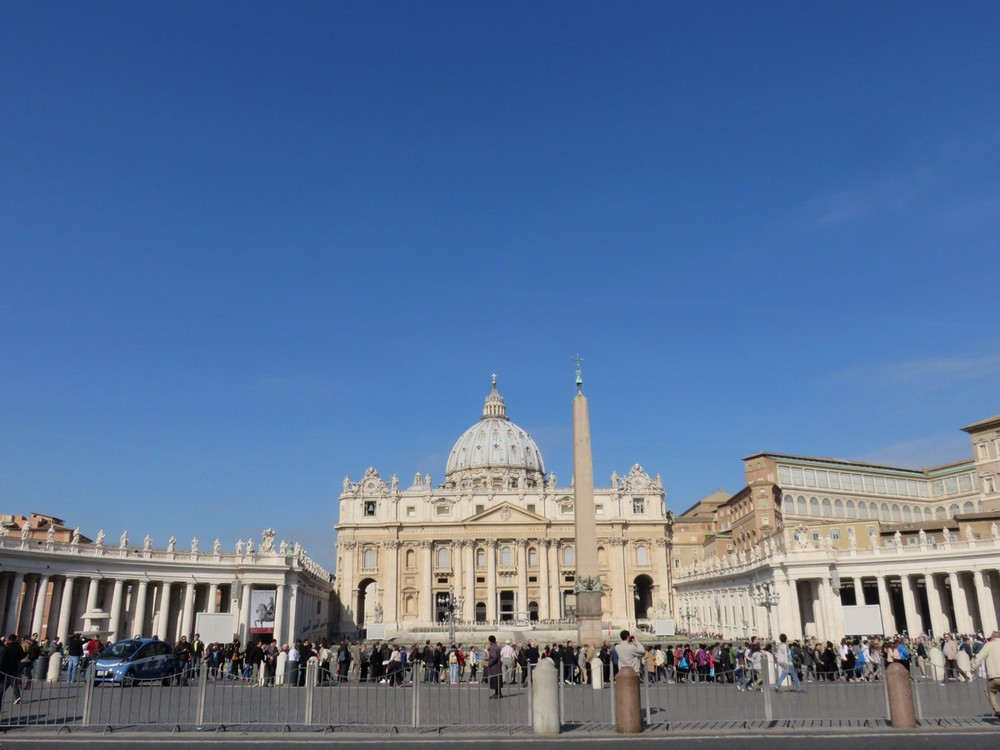 The Vatican from afar
