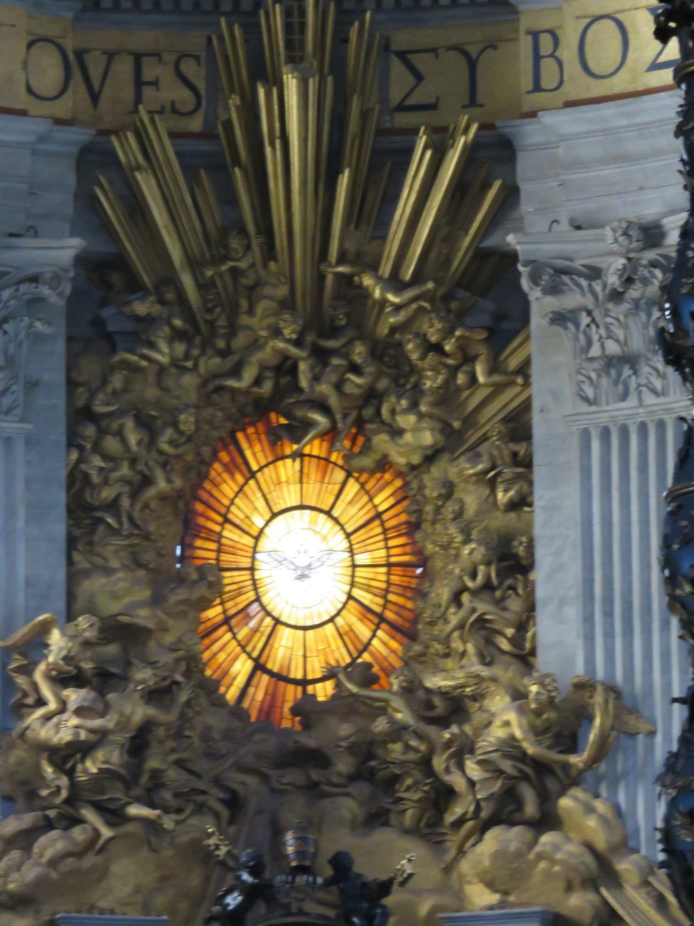Just... Wow. The Dove at St. Peter's