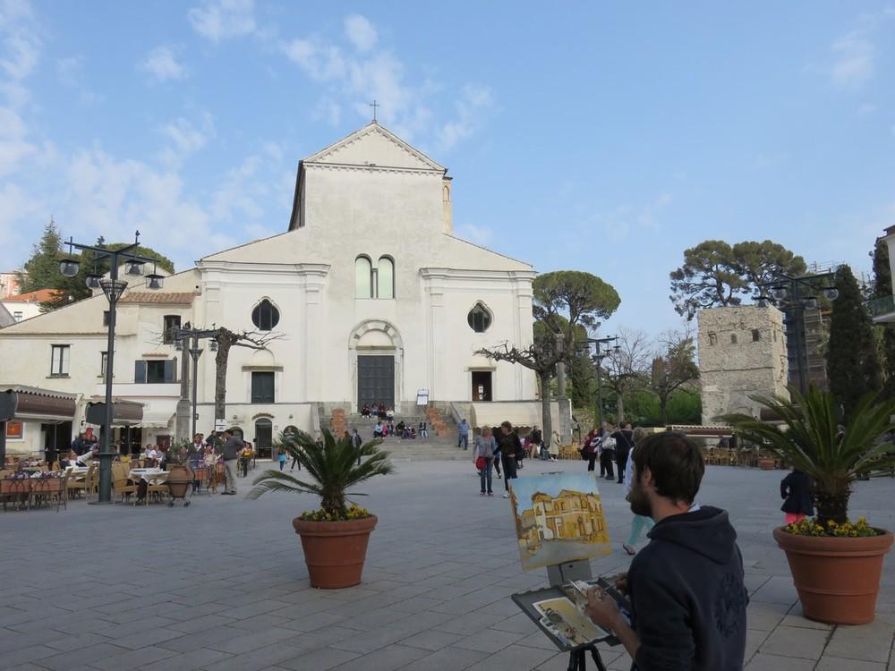 Ravello's charming square