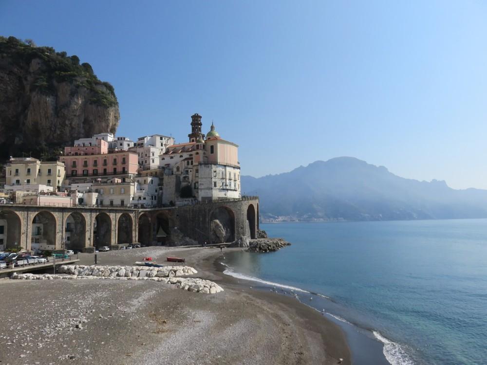 Amalfi town views