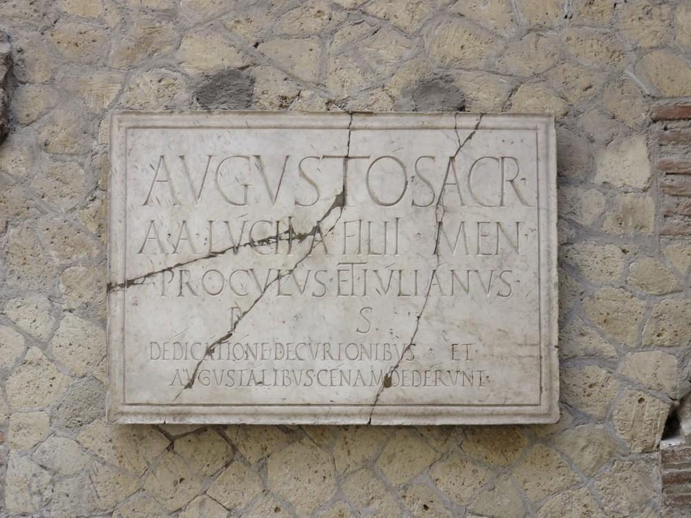 Ancient inscriptions..
