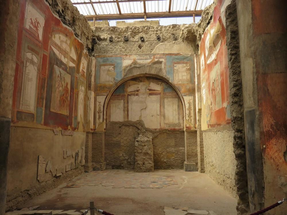 Herculaneum frescos