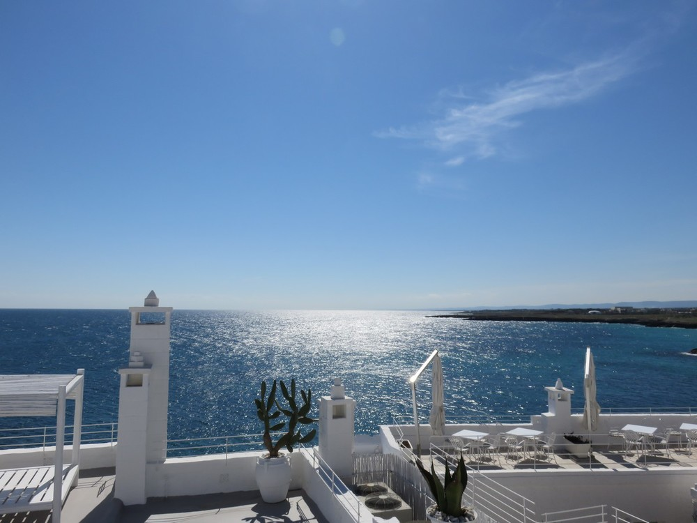 Views from the Monopoli roofdeck