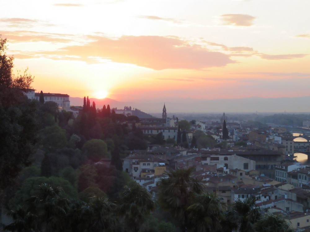 Fiery Firenze Sunset!