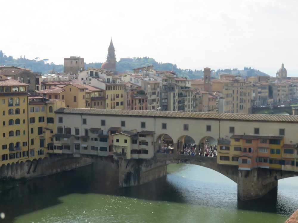 More Ponte Vecchio views