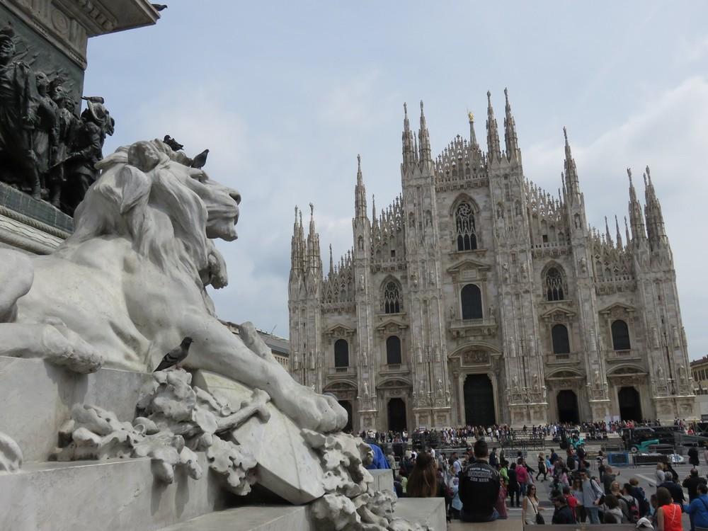 Milano's beautiful Duomo