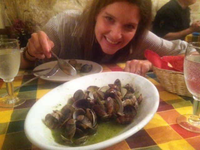 Vito's Vongole!  Just don't ask him if he uses butter....