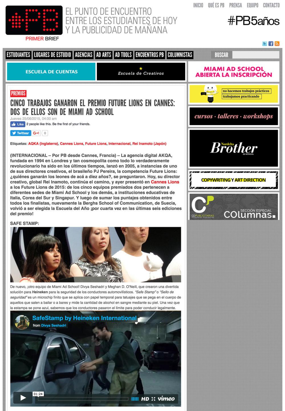 Primer Brief (Argentina)