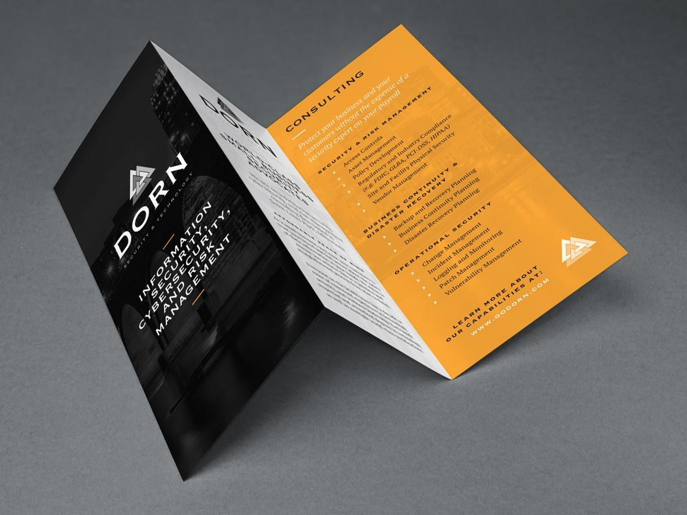 Dorn Security Brand & Brochure