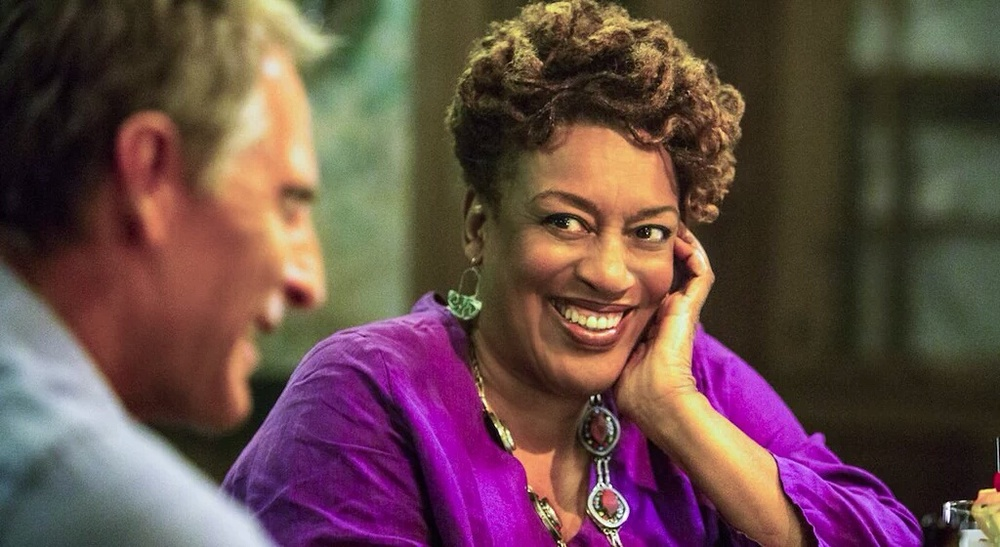 CCH POUNDER as Dr. Loretta Wade Wearing Douriean Sterling Silver Earrings on NCIS: New Orleans