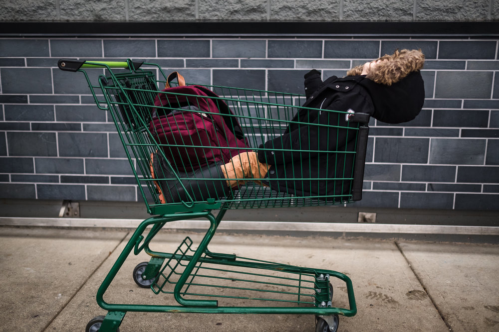 kid-shopping-cart-save-on-foods-funny-documentary-photography-maple-ridge