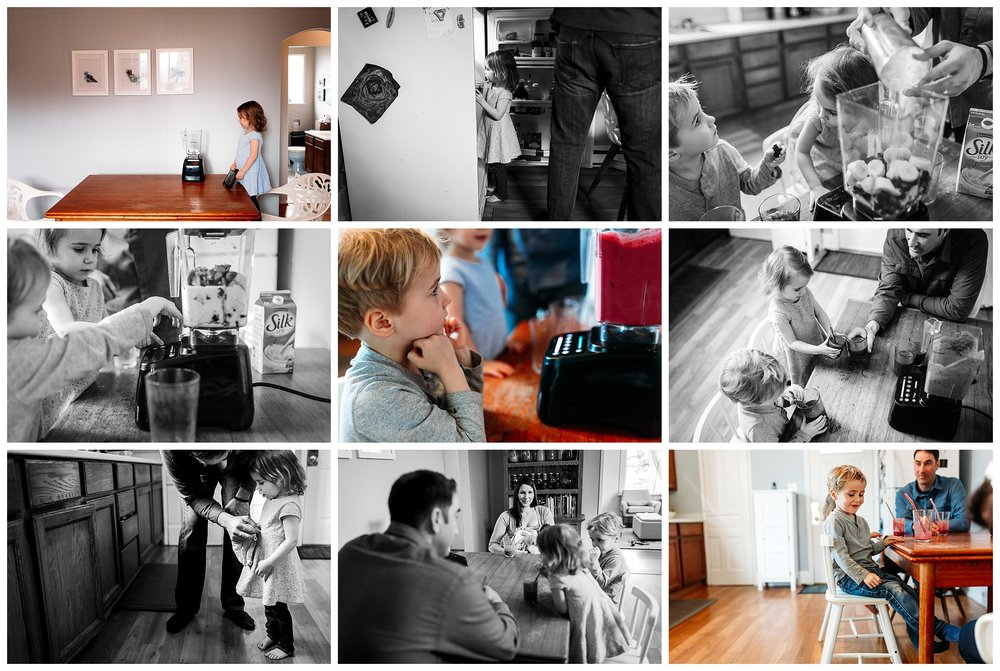 family-documentary-kitchen-making-smoothies-coquitlam-photography-videographer