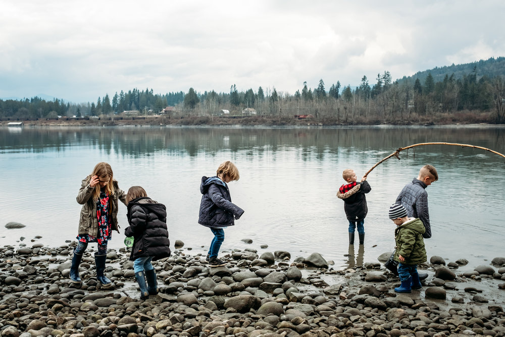kids-river-playing-stick-rocks-eight-vancouver-langley