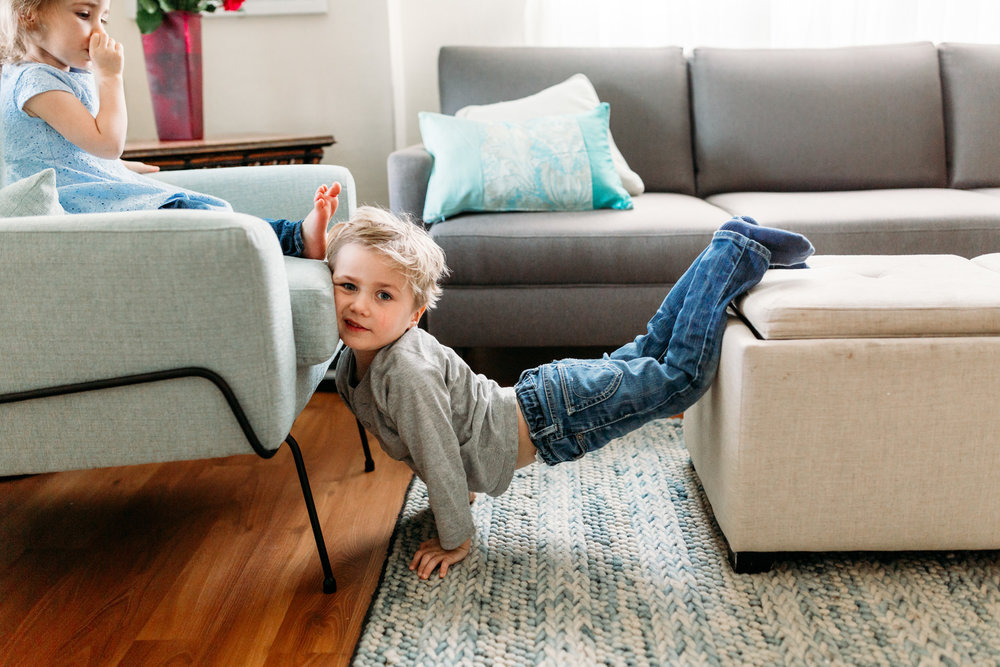 kids doing funny things in the living room toddlers coquitlam vancouver