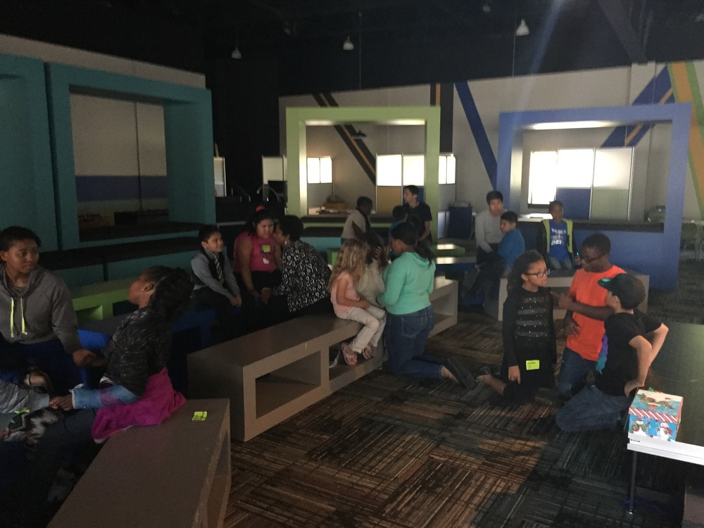 This week God's Spirit moved in our early morning service and we had a spontaneous time of prayer with kids! It messed up our service, but was well worth it!!