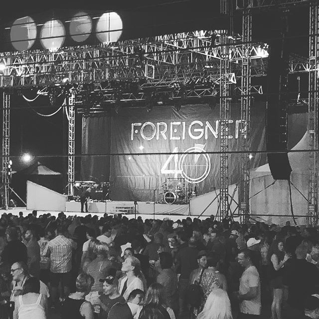 The main event :) #IllinoisStateFair #foreigner