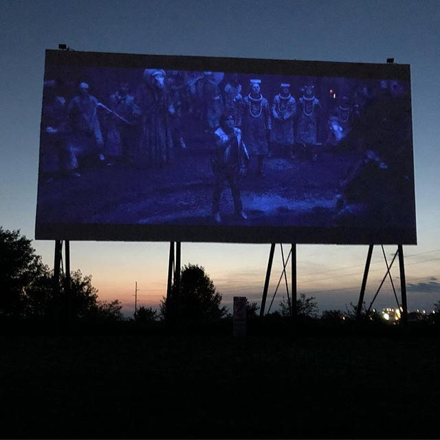 Not many better ways to watch a movie :) #driveinmovie #WishTheyDidMoviePass #Solo #3rdtimesacharm