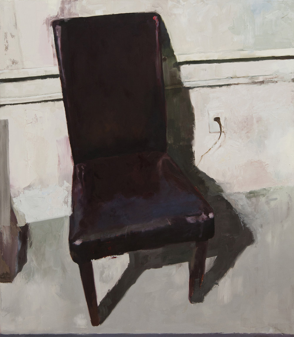Portrait of a Leather Chair