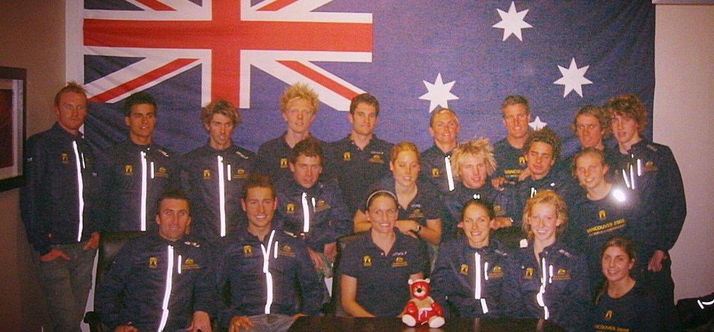 2008 Worlds team just... hangin' around.
