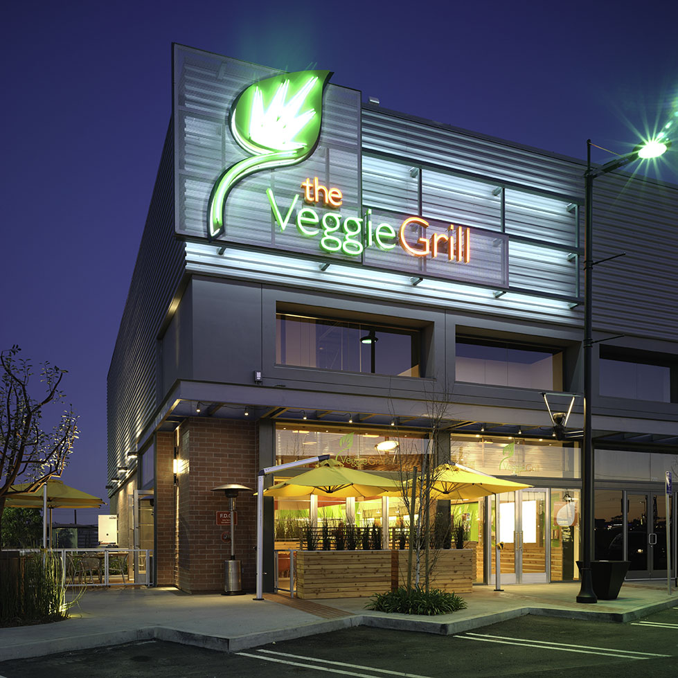 THE VEGGIE GRILL