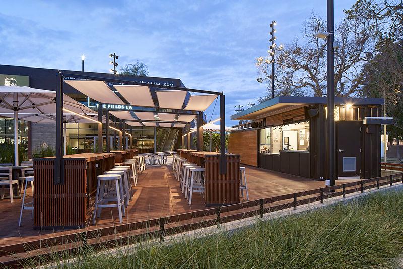 LAFC Stadium Beer Garden - Food Halls