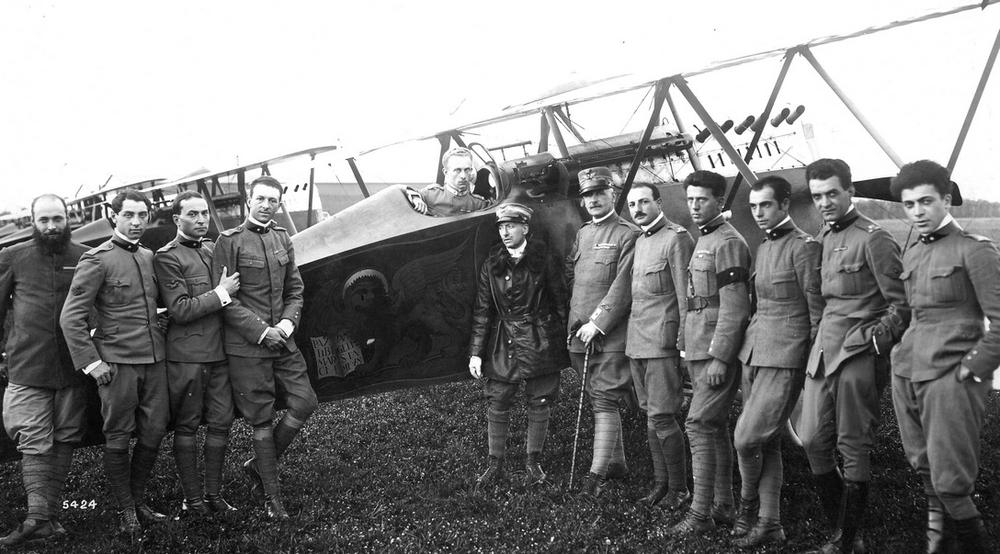 La Grande Guerra dell'Aeronautica   CAVALIERI DEL CIELO