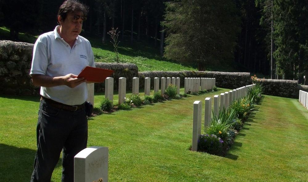 I reparti Alleati in Altopiano   ANDREA VOLLMAN