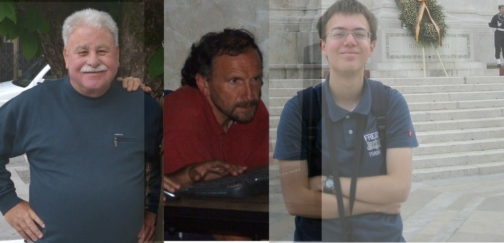 Sergio Giacomelli (fotografo), Giandomenico Stella (luci-audio-video), Marco Cristini (traduzioni)   DIETRO LE QUINTE