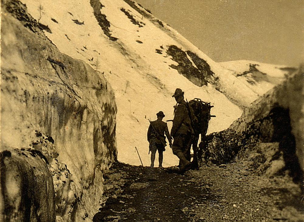 Tra ghiacciai e cime inespugnate   GUERRA IN MONTAGNA