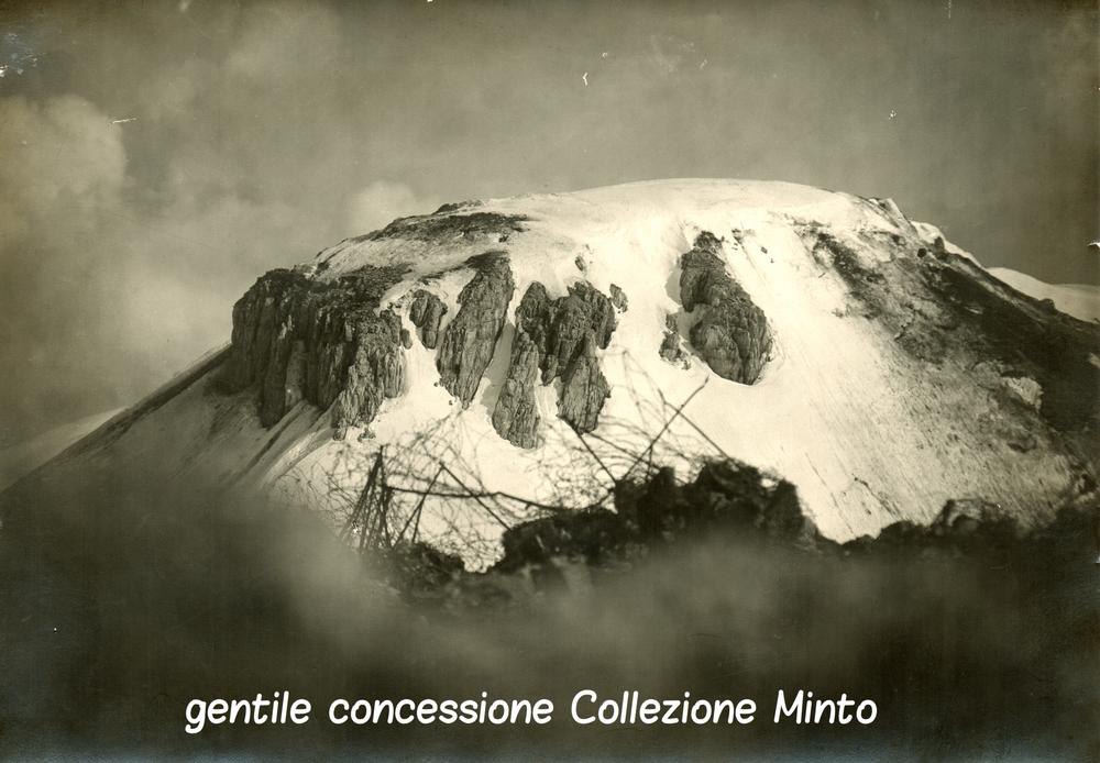 Il dente italiano visto dalle postazioni di quello austriaco