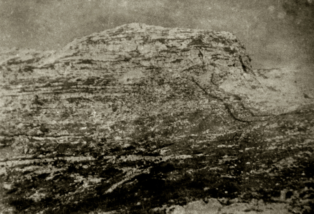Il fronte d'attacco del Monte Ortigara come si presentava alle truppe italiane
