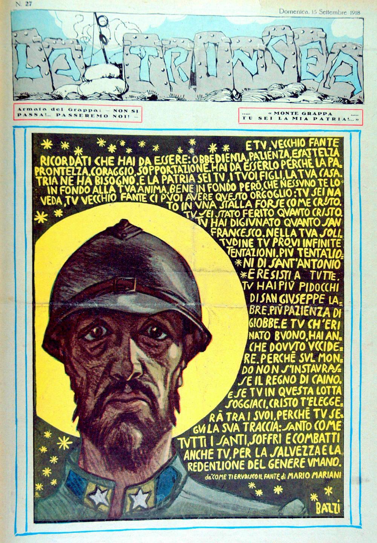 La Trincea - n. 27 - 15 settembre 1918 per Archivio Dal Molin.jpg