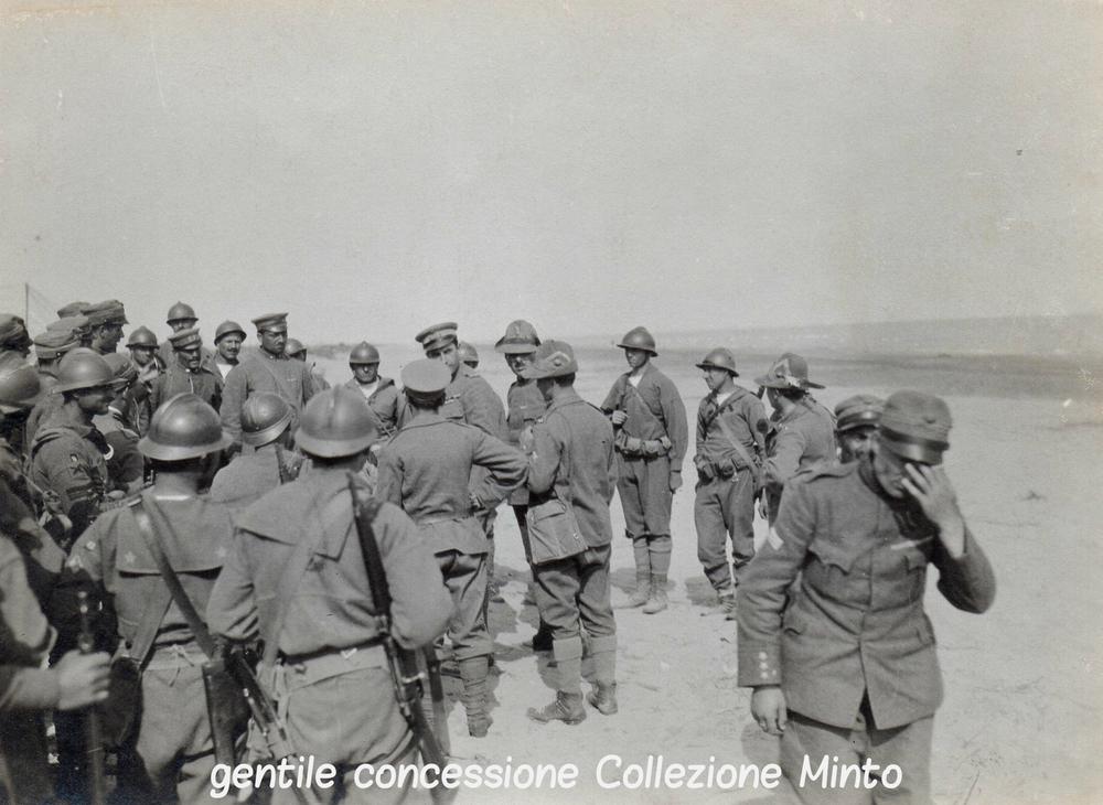 Fanti di Marina e Finanzieri impegnati lungo il Piave e il Sile nel 1918